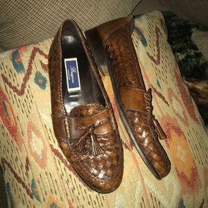 Bragano Cole Haan 13 Weave Leather Tassels Shoe